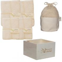 Les Tendances d'Emma - Eco kit toweling washable wipes set in 3 fabrics to choose from
