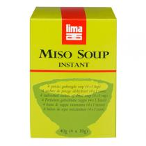 Lima - Instant Miso Soup - Traditional 4 x 10g