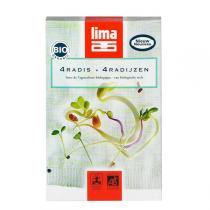 Lima - 4 Radish Sprout Mix 70g