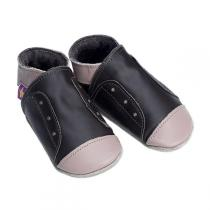 Starchild - Taupe & Chocolate Junior Trainers