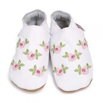 Starchild - White Rosa Leather Shoes