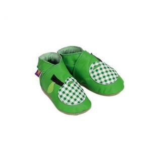 Starchild - Apple Green Gingham leather shoes