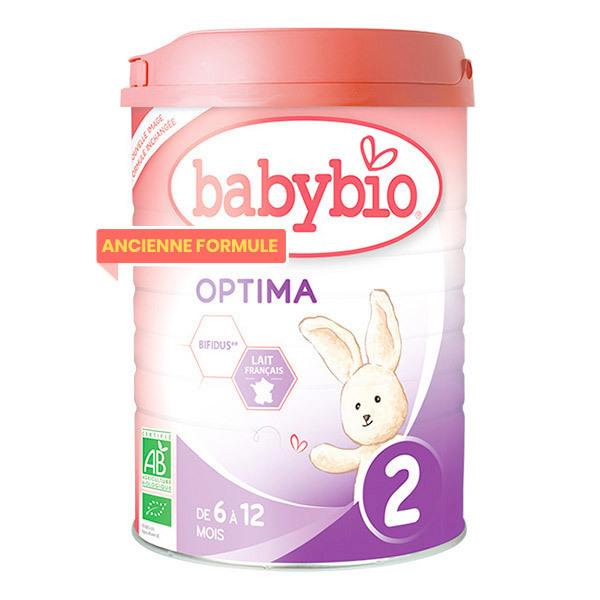 Babybio - Optima 2 lait de suite Bio de 6 à 12 mois 900g