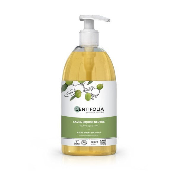 Centifolia - Savon liquide neutre bio 500 ml