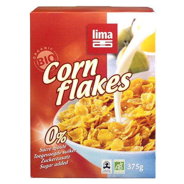 Cornflakes 375g Lima | Shop online at Greenweez.co.uk