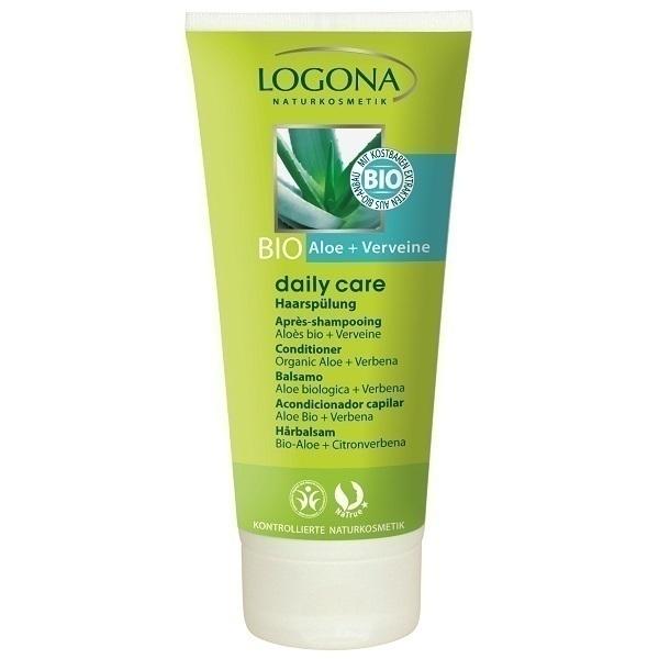 Apr s shampoing bio alo s verveine 100ml logona acheter for Apres shampoing maison