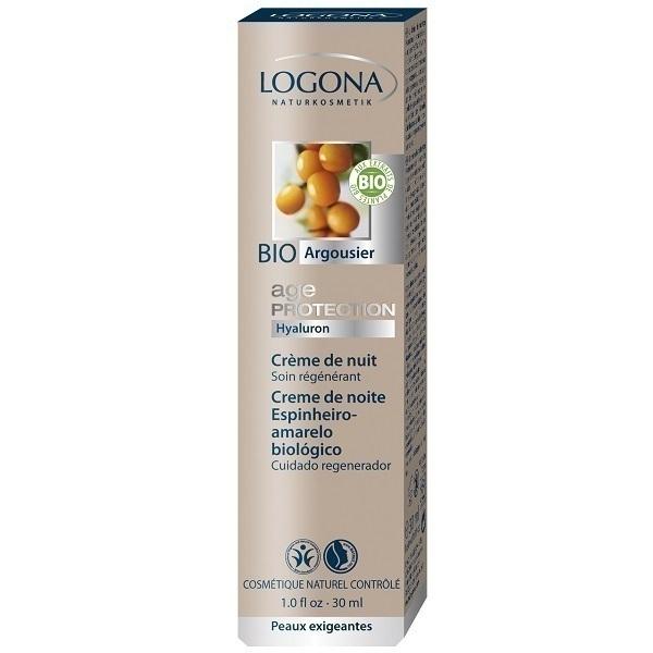 Logona - Age Protection Nachtcreme 30 ml