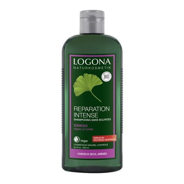 Logona - Shampooing réparation intense au ginkgo 250ml