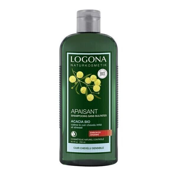 shampooing apaisant l 39 acacia bio 250ml logona acheter sur. Black Bedroom Furniture Sets. Home Design Ideas