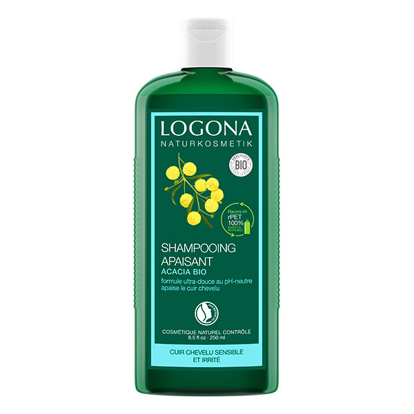 Logona - Shampooing apaisant à l'acacia bio 250ml