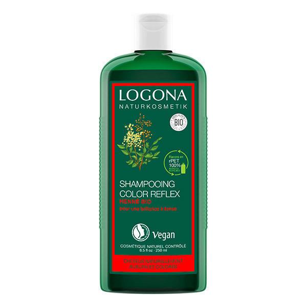 Logona - Shampooing color reflex au henné 250ml