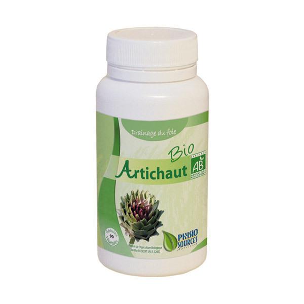 Artichaut Bio 90 Gélules Physio Sources | Acheter sur