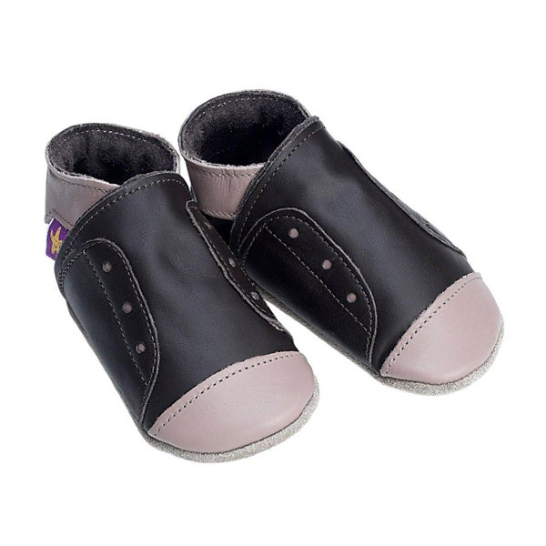 chaussons cuir starchild junior taupe la r f rence bien tre bio b b. Black Bedroom Furniture Sets. Home Design Ideas