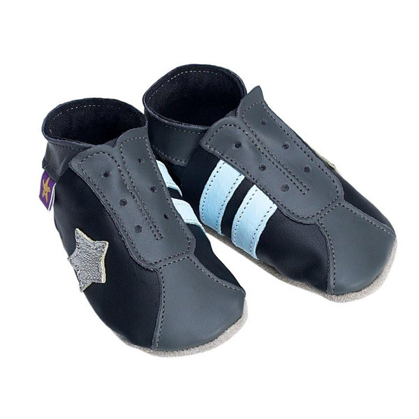 Starchild - Chaussons Starchild Retro black grey