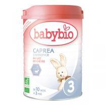 Babybio - Caprea 3 Lait de croissance au lait de chèvre bio 900g