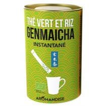 Aromandise - Sticks thé instantané Genmaicha Bio 25 sticks