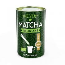 Aromandise - Sticks thé instantané Matcha Bio 25 sticks