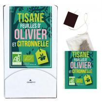 Aromandise - Tisane Feuille d'Olivier et Citronnelle Bio 20g