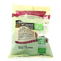 Auzier Chabernac - Gomme Propolis Miel Eucalyptus Bio 100g