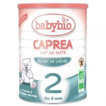 Babybio - Caprea 2 Lait de Suite au Lait de Chèvre Bio dès 6 mois