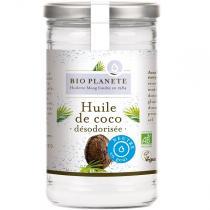 Bio Planète - Huile de coco désodorisée 1 Litre