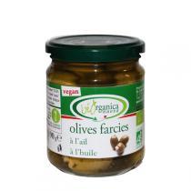 Biorganica Nuova - Olives farcies à l'ail 190gr