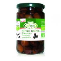Biorganica Nuova - Olives noires dénoyautées aux herbes 280g