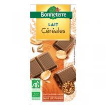Bonneterre - Chocolat Lait Céréales 100gr