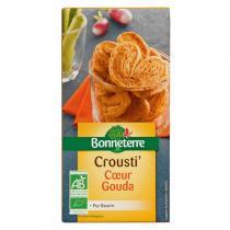 Bonneterre - Crousti Coeur Gouda (Pur Beurre) 130gr