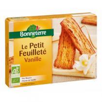 Bonneterre - Le Petit Feuilleté à La Vanille (Pur Beurre) 120gr