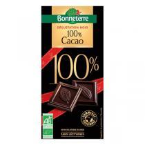 Bonneterre - Noir dégustation 100% cacao 80g