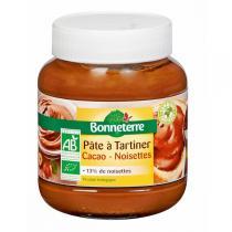 Bonneterre - Pâte A Tartiner Cacao-Noisettes 400gr