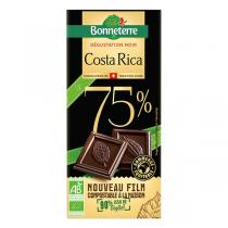 Bonneterre - Tablette chocolat Origine noir Costa Rica 75% 70g