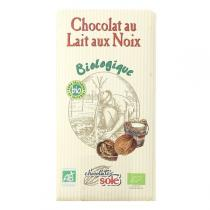 Chocolates Solé - Chocolat Au Lait Aux Noix Bio 100g