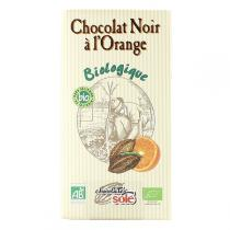 Chocolates Solé - Chocolat Noir 56% à l'orange Bio 100g