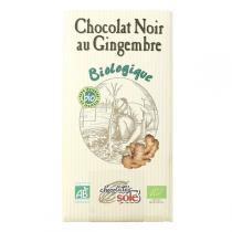Chocolates Solé - Chocolat Noir 56% Au Gingembre Bio 100g