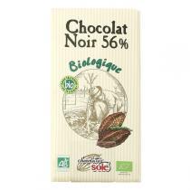 Chocolates Solé - Chocolat Noir 56% Cacao Bio 100g