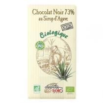 Chocolates Solé - Chocolat Noir 73% Au Sirop D'agave Bio 100g