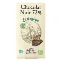 Chocolates Solé - Chocolat Noir 73% Cacao Bio 100g