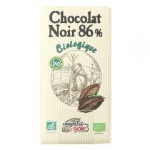 Chocolates Solé - Chocolat Noir 86% Cacao Bio 100g