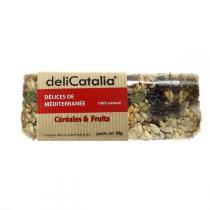 DeliCatalia - Barre De Céréales Et Fruits Bio 50g