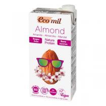 EcoMil - Mandelmilch Natur Proteine 1 Liter