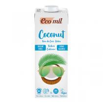 EcoMil - Lait de coco-calcium sans sucres 1L
