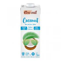 EcoMil - Boisson coco-calcium sans sucres 1L