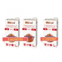 EcoMil - Offre Boisson noisettes Nature sans sucres 1L BIO 2 + 1 offert