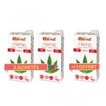 EcoMil - Offre Boisson Végétale au Chanvre Sans Sucres BIO 1L 2+1 Offert