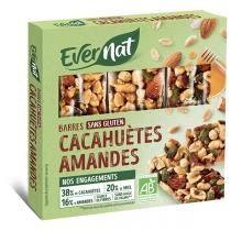 Evernat - Barres Fruits Secs 3x25gr