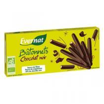Evernat - Batonnets Chocolat Noir 150gr