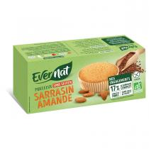 Evernat - Moelleux Sarrasin Amande Sans Gluten 180gr