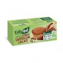 Evernat - Moelleux sarrasin cacao Sans gluten 180g